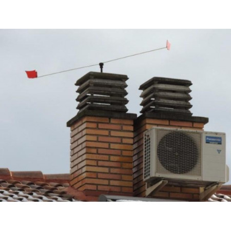 SCARECROW EOLO FOR FIREPLACES AND AIR CONDITIONERS