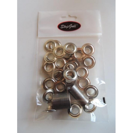 STAINLESS EYELETS WITH DIE