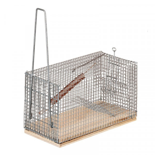 MOUSE BIG CAGE LIVE TRAP RECTANGULAR