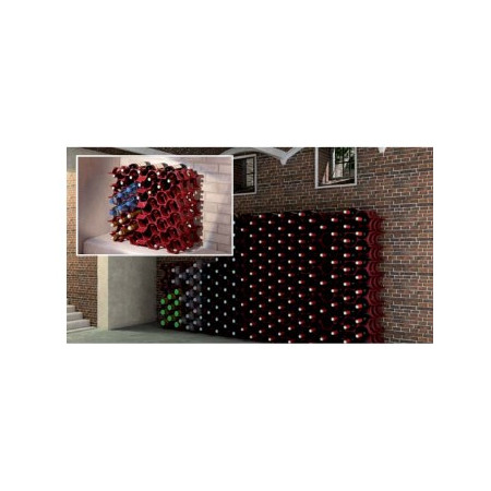 POLYPROPYLENE WINE RACK 7 BOTTLES