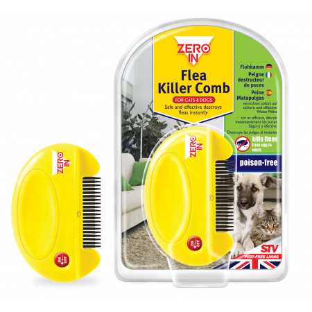 ELIMINATE FLEAS AND THEIR LARVAES
