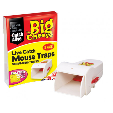LIVE CATCH RTU MOUSE TRAP- TWINPACK