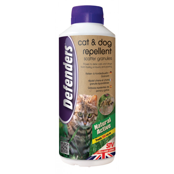 CATS REPELLENT WITH GARLIC EXTRACT