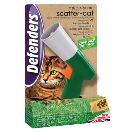 Repelente animales sonico ultrasonico for Ahuyentar gatos jardin