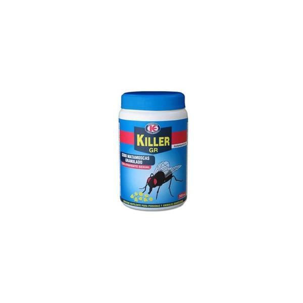 GRANULAR BAIT POT TO ELIMINATE FLIES