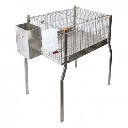 CAGE WITH PAWS AND WITHOUT NEST FOR RABBITS MARSELLA