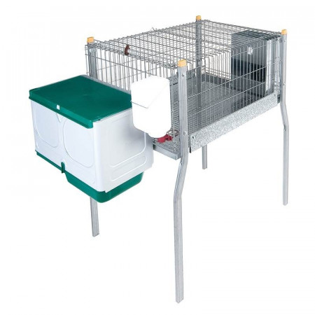 CAGE WITH PAWS AND NEST FOR RABBITS MARSELLA