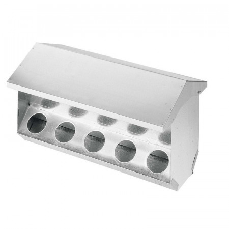 RABBIT HOPPER 10 HOLE WITH COVER
