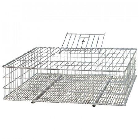 cage pour le transport de volailles et de lapins en m tal. Black Bedroom Furniture Sets. Home Design Ideas