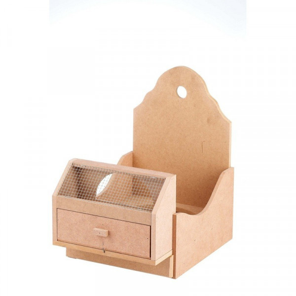 WOODEN SUPPORT PARTRIDGE CLAIM CAGE