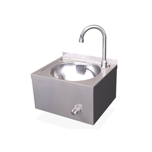 XS SERIES KNEE WALL SINK HOT AND COLD WATER