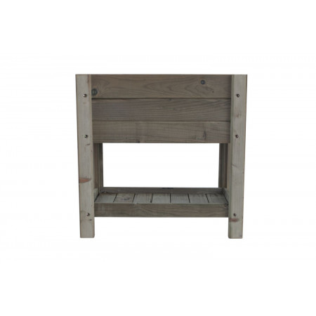 TABLE OF CULTURE WITH AUTOCLAVE TREATED WOOD TRAY 75 L.