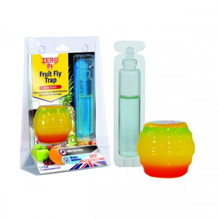 APPLE-SHAPED FLY TRAP