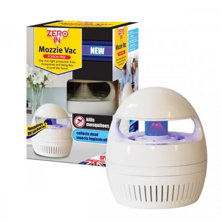 mosquito pi ge avec la lumi re uv et ventilateur. Black Bedroom Furniture Sets. Home Design Ideas