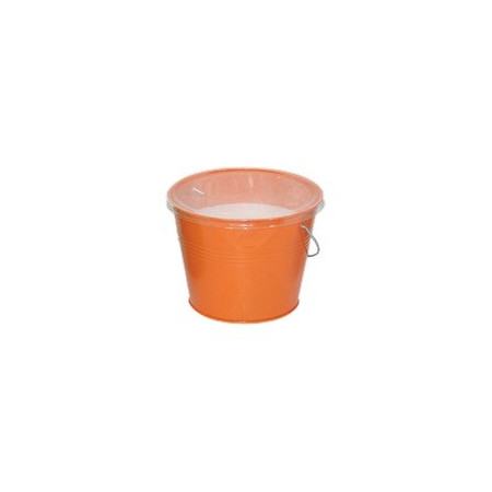BUCKET WITH SMALL CITRONELLA CANDLE