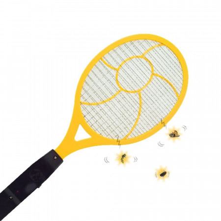 RACKET KILLS INSECTS