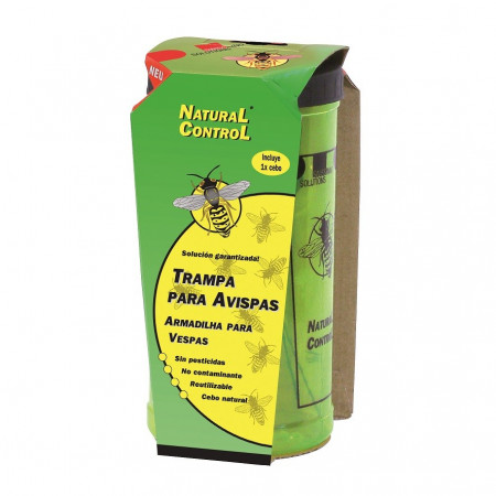 ELIMINATE WASPS BY TRAP OF BAIT NATURAL CONTROL