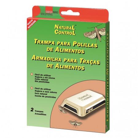 TRAMPA PARA POLILLAS EN ALIMENTOS NATURAL CONTROL