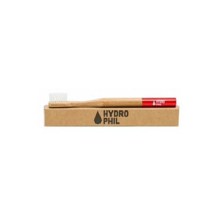 TOOTHBRUSH BAMBOO / RED NYLON