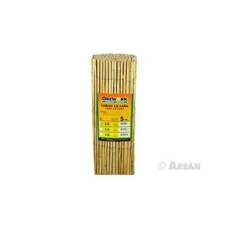 1/2 CANE NATURAL WATTLE OREWORK 1M