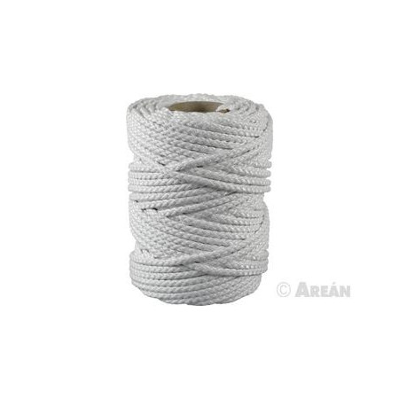 MATT NYLON ROPE 200M Nº6 WHITE