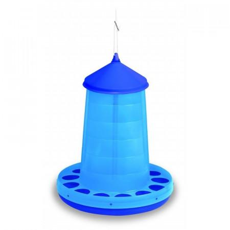 BLUE PLASTIC HOPPER 16 KG.