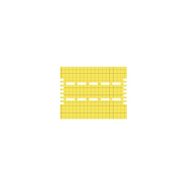 YELLOW SPARE ADHESIVE PLASTIC BOARD FOR VISU SUSP. 30/ PROTRAP 30/ VIROTRAP 26/ ULTRATRAP 30/ FLYTRAPCIAL 30