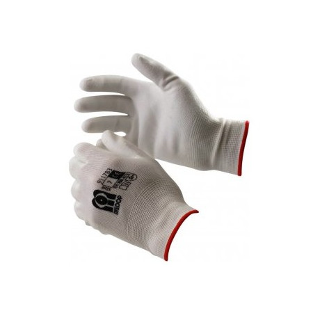 PU-RE WHITE GLOVES FOR DRY SURROUNDINGS SIZE 7