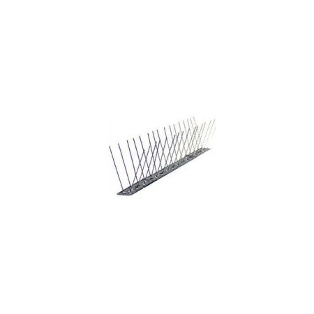 STRIPS OF NEEDLES TO SACARE BIRDS OF STAINLESS STEEL