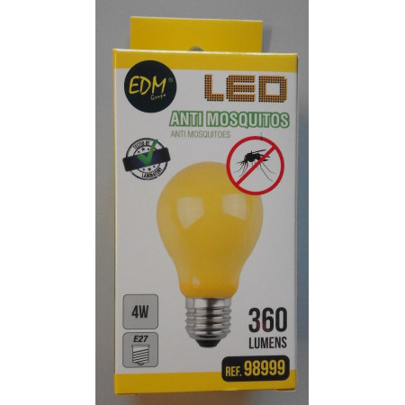 BOMBILLA LED ANTI MOSQUITOS
