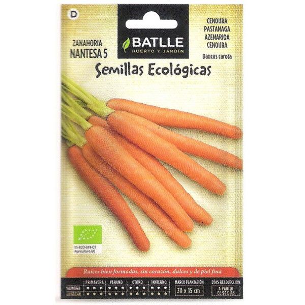 ECOLOGICAL SEEDS CARROT