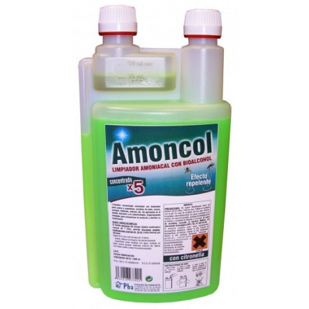 AMONIACAL CLEANER WITH BIOALCOHOL 1LT