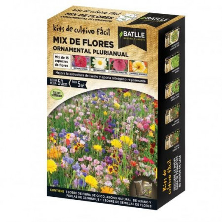 MIX DE FLORES ORNAMENTAL PLURIANUAL