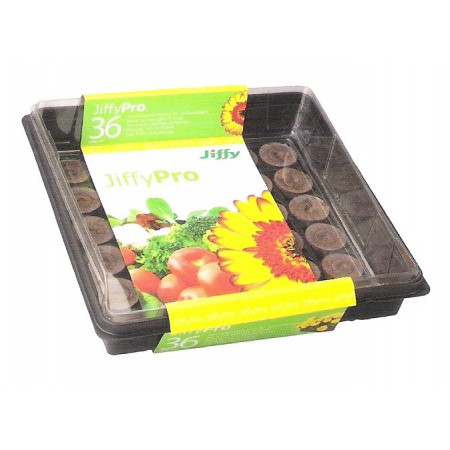 JIFFY-7 GREENHOUSE TRAY 36 TABLETS - 1 UNIT