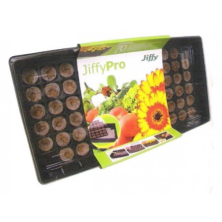 JIFFY-7 AUTOWATERING GREENHOUSE TRAY 70 TABLETS - 1 UNIT