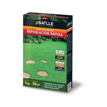 LAWN SEEDS FAST REPOPULATION