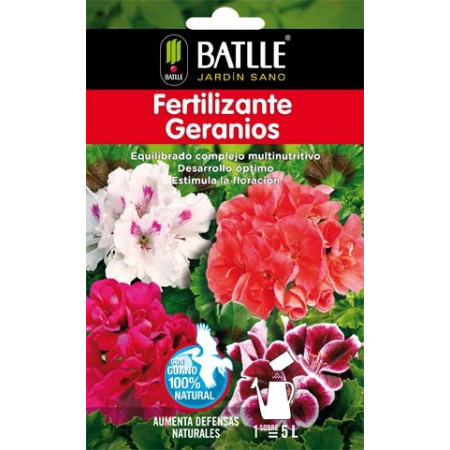 GERANIUM FERTILIZER ENVELOP