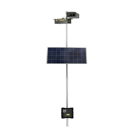 SET AQUIENTADOR BIRDS SPECIAL REPELLER WITH SOLAR PLATE