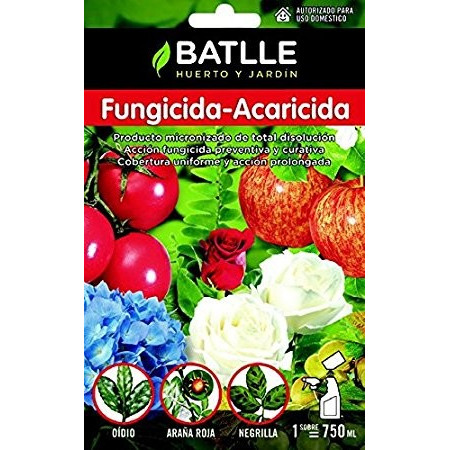 FUNGICIDE-ACARICIDE ENVIRON 5L