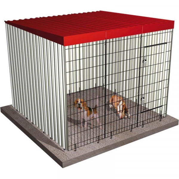 BOX POUR CHIENS 201x201x174cm