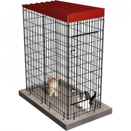 BOX POUR CHIENS 67x134x174cm