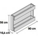 GARDENER STAND LINE (WALL) WALL 90 2B