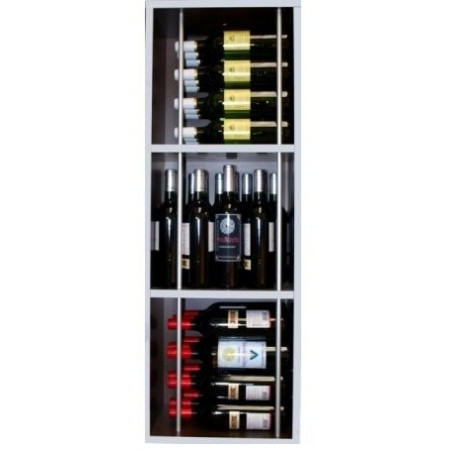 BALCONY BOTTLE WITH 3 COMPARTMENTS, CAPACITY 36 BOTTLES