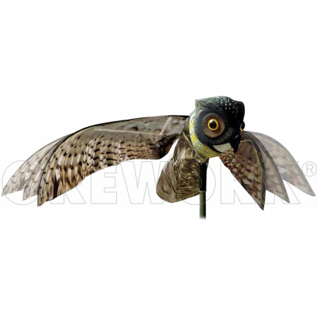 SCARECROW OWL FLYING EFFECT