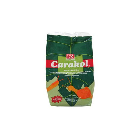 ELIMINATES ALL KINDS OF SNAILS, SLUGS AND LIMAC WITH GRANALUTE BAIT 1Kg