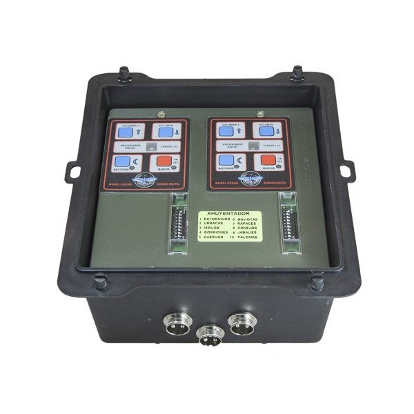 DOUBLE 2X40W DIGITAL BIRD DRIVER WITH SPECIAL SELECTOR
