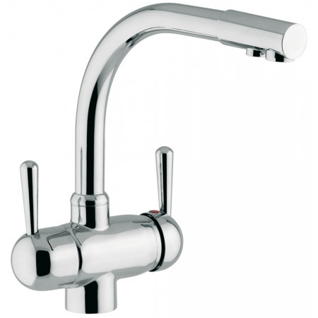 STAINLESS STEEL DOUBLE PURPOSE ONE HANDLE TAP