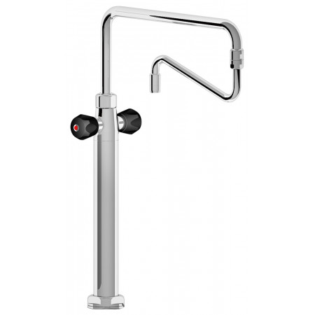 DOUBLE INLET ROTATING COLUMN TAP WITH INSULATED HEAD