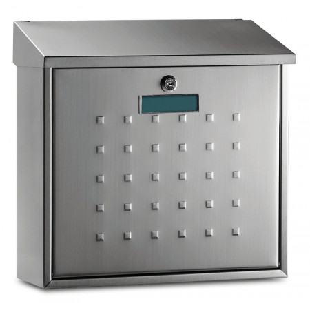 MAILBOX STAINLESS STEEL PLUS