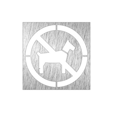 PICTOGRAM NO ANIMALS